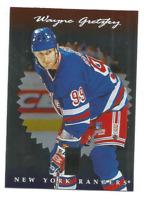 1996-97 Donruss Elite #10 Wayne Gretzky New York Rangers