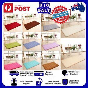 Washable Non-Slip Floor Rug Carpet Living Room Mat Kitchen Door Mat Soft Home AU