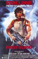 """First Blood movie poster - Rambo  : 11"""" x 17"""" Sylvester Stallone poster"""