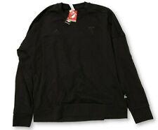 NWT New Portland Timbers adidas Pullover Black Logo Size XL Crew Sweatshirt