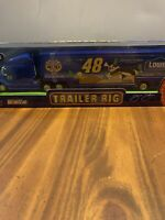 Nascar Winners Circle Jimmie Johnson Trailer Rig Size 1/64 Looney Tunes Edition