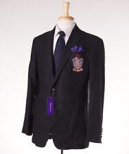 NWT $2795 RALPH LAUREN PURPLE LABEL Linen Crest Blazer Slim-Fit 44 L Sport Coat