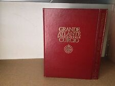 GRANDE ATLANTE INTERNAZIONALE CURCIO 2 VOLUMI + INDICI