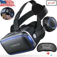 VR Headset Version Virtual Reality Glasses 360 Panoramic Vision 3D Video Cinema