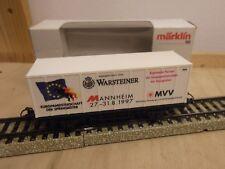 "Märklin H0 4481 Wagon transport de conteneurs ""Europameistersch. de la"