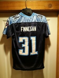 NFL Tennessee Titans Cortland Finnegan Football Jersey Size Youth Medium