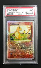 Pokemon Card PSA 9 Legendary Collection Reverse Foil Charmander #70/110
