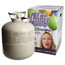 2 x Disposable Helium Gas Canister Cylinder Fills 100 Balloons Party Birthday