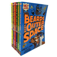 Gareth P. Jones Pet Defenders 6 Books Collection set Beards From Outer Space NEW