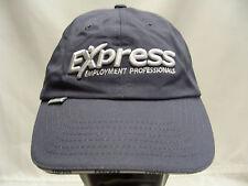 EXPRESS EMPLOYMENT PROFESSIONALS - ADJUSTABLE STRAPBACK BALL CAP HAT!