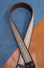 DEL RIO Cotton USA made A & F style TROPHY Mandolin Strap