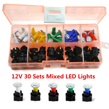12V Car Dash Light T5 Instrument Panel Cluster Plug Mixed LED Lights 30 Sets