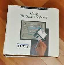 """Commodore Amiga """"Using The System Software"""" User Manual with DISKs"""
