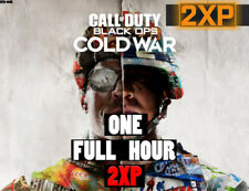 CoD Black Ops: Cold War ONE HOURS 2XP + Exclusive Calling Card [FAST Delivery]