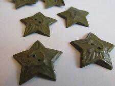 1941 RED ARMY (RKKA) FIELD TYPE SOLDIER STAR COCKADE !!! WW2