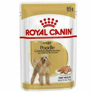 Royal Canin Poodle Adult Wet Dog Pouches 85g x 12
