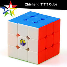 Zhisheng Yuxin Magic Cube Stickerless 3x3 Speed Cube 3x3x3 Puzzle Twist Colorful