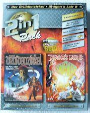 Neu:Der Druidenzirkel + Dragon`s Lair II Big Box PC-Spiele Classic WIN 95/98 OVP