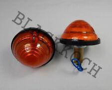 Turn Signal Rear Combination light Amber lens fits Willys Jeep CJ3 CJ5 CJ6 #30y