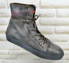 NEW NAPAPIJRI FIONA Womens Leather Hi Top Shoes Sneakers Trainers Size 7 UK 41EU