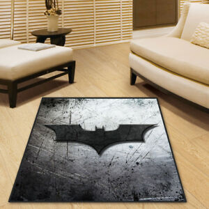 Batman DC Comics Cool Velboa Floor Rug Carpet Room Doormat Non-slip Chair Mat 58