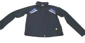 Nike Jacket Blue Full Zip Side Pockets Polyester Training Running Women Size XL