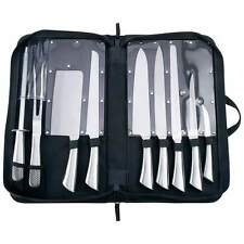 Slitzer 10 pc Professional Surgical Stainless Steel  Chef's Cutlery Knife Set
