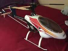 Nitro RC Helicopter Thunder Tiger Raptor 30, May Need Control Binding.