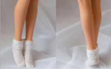 Customize 1/6 White Lace Socks Stockings Figure Accessories