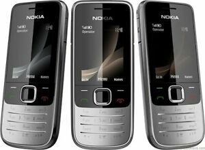NOKIA 2730c-1b BELL ONLY CANDY BAR POCKET CELLULAR MOBILE SILVER CELL PHONE HSPA