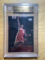 2003 Upper Deck Star Rookie LeBron James RC #301 BGS 9.5 GEM MINT PSA 10?
