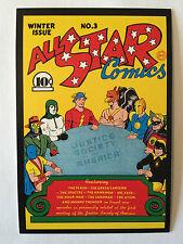 CARTE POSTALE DC COMICS ALL STAR COMICS N° 3 NEUF POSTCARD