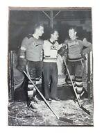 1991-92 Boston Bruins Sports Action Legends - Schmidt Weiland Cowley - HOF