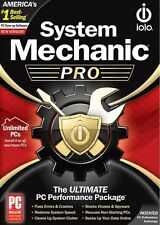 Iolo System Mechanic Pro Unlimited PCs - Boxed Version New