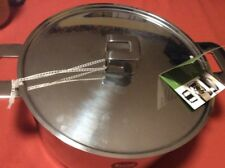 mepra Pot with Lid Stainless Steel  8 L