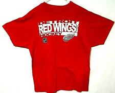 Reebok  NHL    Youth TEE SHIRT    DETROIT RED WINGS   /  red    XL