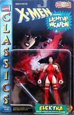 X-Men Elektra Classics Light Up Action Figure ToyBiz