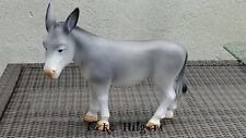 Asino Figura Animale Figura Giardino Figura Decorazione Scultura da giardino dekofigur animali Grigio
