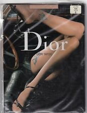 Collant fantaisie DIOR TATOO coloris Nuage. Taille 2 - 9. Fashion tights.