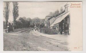 Essex Carte Postale - Brentwood Reines Route - P; U 1904 ( Carré Cercle Pmk )