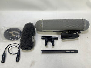 Sennheiser MKH416 microphone with WS4 windshield system + more