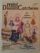 Donna Gallagher Weaving Craft Pattern Book Mini Dream Catchers 951 Ohma Wilette