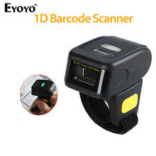 Wearable Bluetooth Barcode Finger Ring Scanner Code Reader fr IOS Andriod Iphone