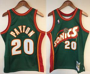 Gary Payton Seattle SuperSonics Mitchell & Ness Authentic 1995-96 Jersey Sonics