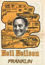 Vintage Brochure - Neil Neilson Franklin Caravan Buyer's Guide 1974
