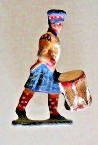 Soldato Piombo Tamburo Con Kilt Piccolo Modello Altezza 3 CM