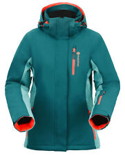 Women's Winter Ski Waterproof Snow Windproof Outdoor Sports Hiking Jacket Coat