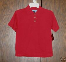 476   NWT- Claiborne red polo- 5/6