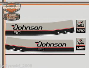 Johnson 90HP  VRO Decals