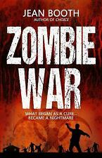 Zombie War by Jean Booth (2017, Paperback)